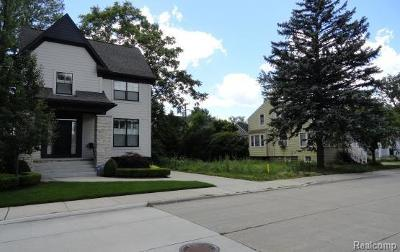 Royal Oak Residential Lots & Land For Sale: 622 E University Avenue