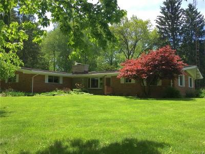 Ann Arbor, Scio, Ann Arbor-scio, Scio, Scio Township, Scio Twp Single Family Home For Sale: 2776 Wagner Court