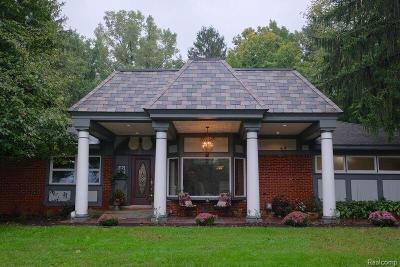 Single Family Home For Sale: 46775 W Ann Arbor Trail Trail