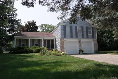 Farmington Hills Single Family Home For Sale: 35977 Fair Oaks Court
