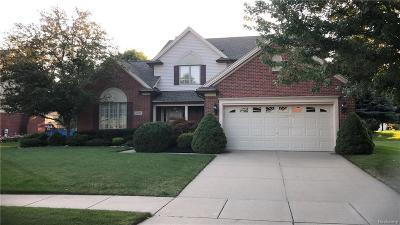 Shelby Twp Single Family Home For Sale: 46729 Glen Pointe Drive