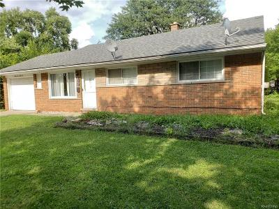 Dearborn, Dearborn Heights Single Family Home For Sale: 6966 N Beech Daly Road