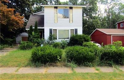 Inkster Single Family Home For Sale: 3617 Hickory