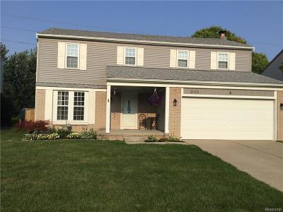 Oakland County, Wayne County Single Family Home For Sale: 2085 E Roundtable Drive