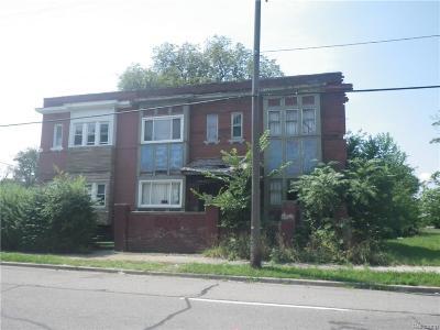 Detroit Single Family Home For Sale: 7641 Brush Street