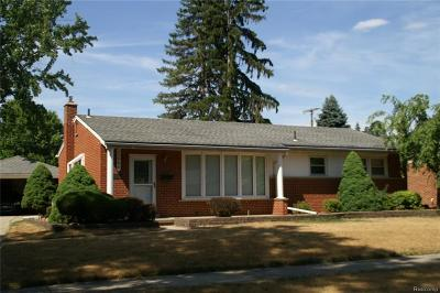 Garden City, Plymouth, Canton Twp, Livonia Single Family Home For Sale: 35844 W Chicago Street