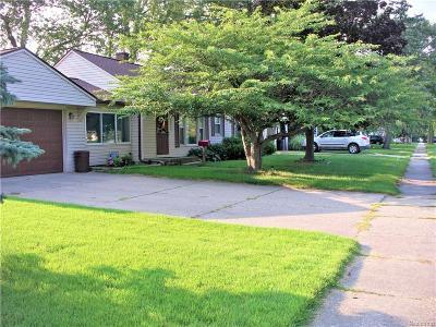 Livonia, Farmington, Farmington Hills, Northville Twp, Novi Single Family Home For Sale: 14771 Merriman Road
