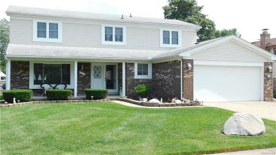 Canton, Canton Twp Single Family Home For Sale: 7878 Capri Drive