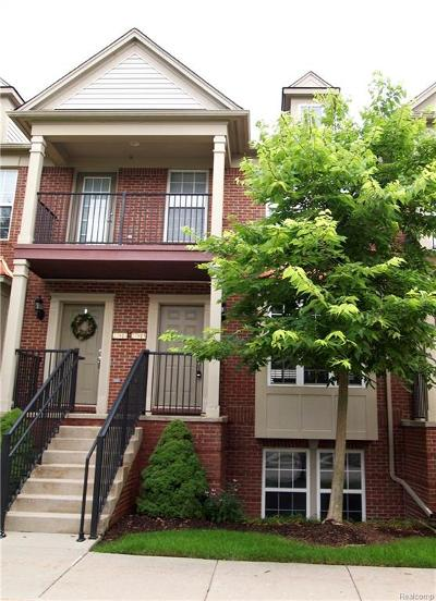 Novi MI Condo/Townhouse For Sale: $204,900