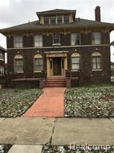 Detroit Single Family Home For Sale: 1949 Longfellow