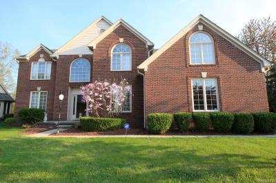 Troy MI Single Family Home For Sale: $625,000