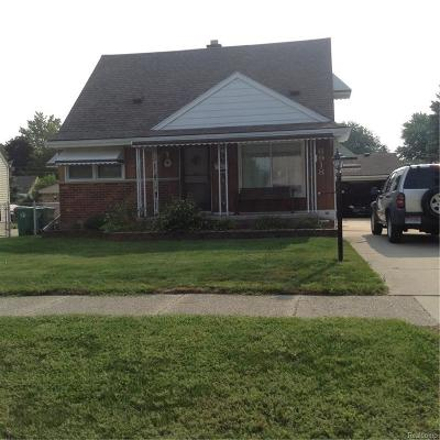 Plymouth Twp, Canton Twp, Livonia, Garden City, Westland Single Family Home For Sale: 6918 Gilman Street