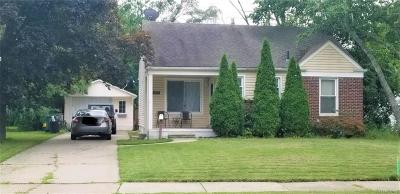 Oakland County Single Family Home For Sale: 13671 Ludlow Street