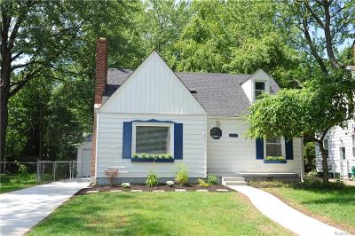 Berkley Single Family Home For Sale: 3257 Cummings Avenue