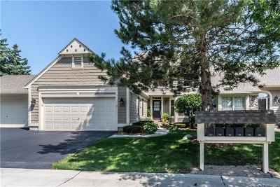 Bloomfield Hills Condo/Townhouse For Sale: 733 Briar Hill Lane