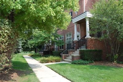 Livonia MI Condo/Townhouse For Sale: $189,900