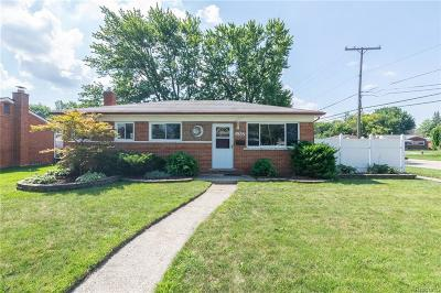Macomb County Single Family Home For Sale: 11302 Dale Avenue