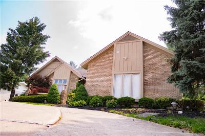 West Bloomfield Twp Single Family Home For Sale: 6955 Ravines Circle