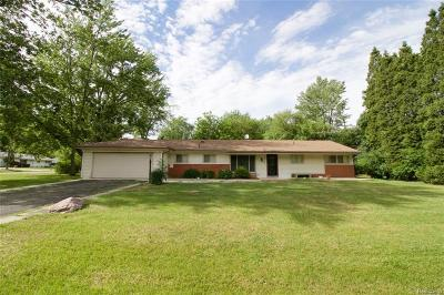 Oakland County Single Family Home For Sale: 5304 W Briarcliff Knoll Drive