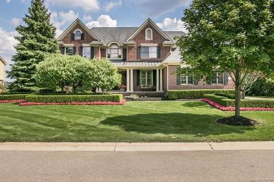 Northville Twp Single Family Home For Sale: 44325 Cypress Point Drive
