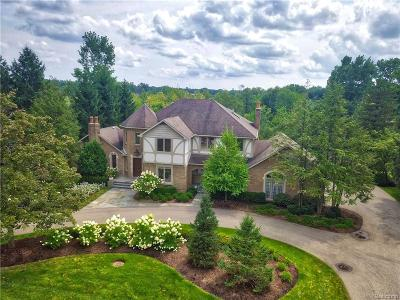 Bloomfield Twp Single Family Home For Sale: 3197 Chestnut Run Drive