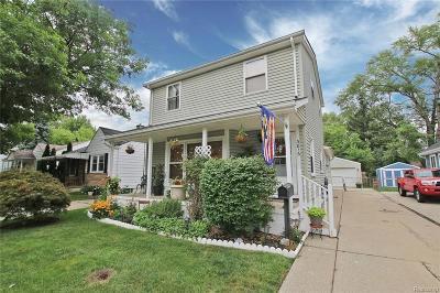 Berkley Single Family Home For Sale: 3816 Tyler Avenue
