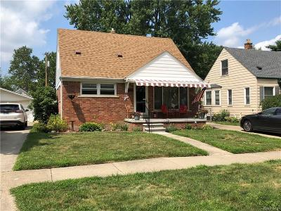 Dearborn, Dearborn Heights Single Family Home For Sale: 2246 Academy Street