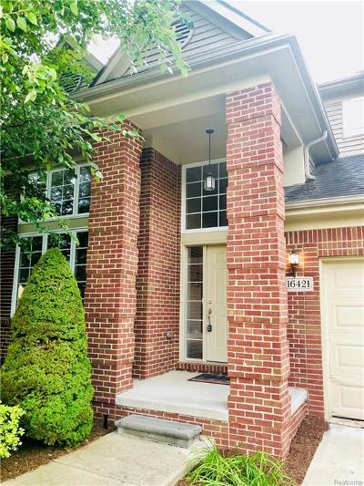 Northville Twp Single Family Home For Sale: 16421 Ridgewood Court