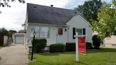 Wayne County, Oakland County Single Family Home For Sale: 14171 Mercedes