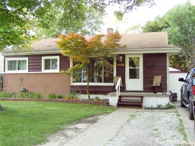 Westland MI Single Family Home For Sale: $139,999