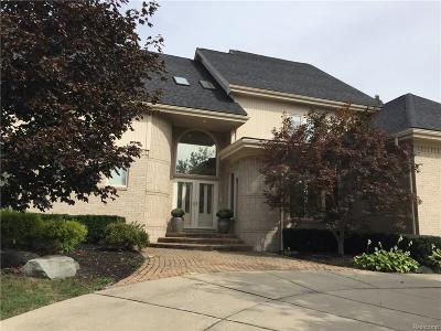 West Bloomfield, West Bloomfield Twp Single Family Home For Sale: 5607 Warrenshire Drive