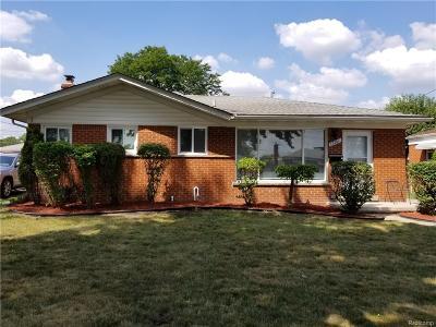 Warren Single Family Home For Sale: 23701 Panama Avenue
