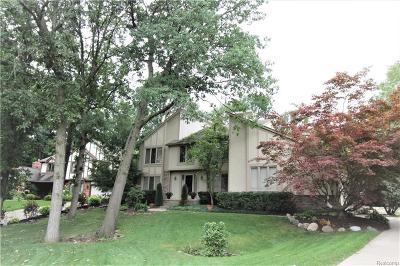 Farmington Hills Single Family Home For Sale: 38623 Deerwood Ct