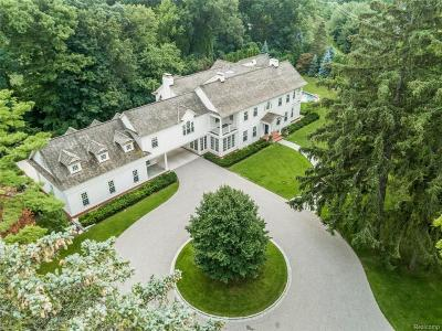 Bloomfield Hills Single Family Home For Sale: 340 Chesterfield Road