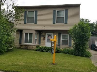 Hazel Park Single Family Home For Sale: 23060 Berdeno Avenue