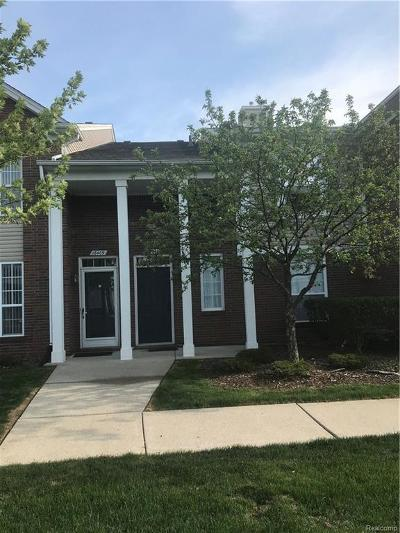Macomb Twp Condo/Townhouse For Sale: 16415 Grandview Drive