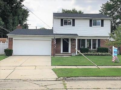 Livonia MI Single Family Home For Sale: $287,500