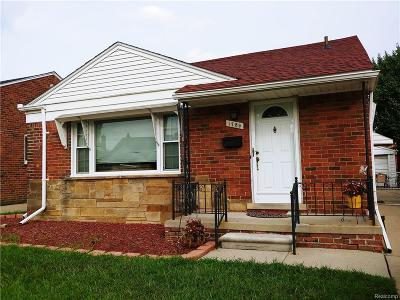 Dearborn MI Single Family Home For Sale: $134,999