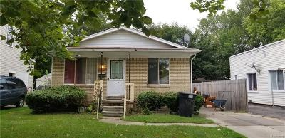 Detroit Single Family Home For Sale: 6751 Evergreen Avenue