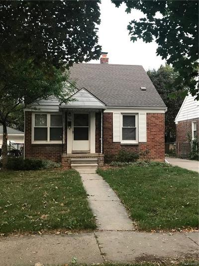 Dearborn MI Single Family Home For Sale: $139,900
