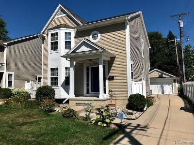 Clawson Single Family Home For Sale: 24 Massoit Street