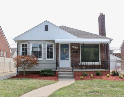 Southgate MI Single Family Home For Sale: $144,900