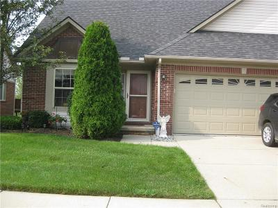 Brownstown Twp Condo/Townhouse For Sale: 20406 Doves Pointe