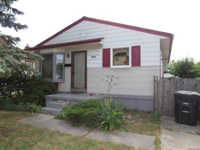 Taylor MI Single Family Home For Sale: $59,900