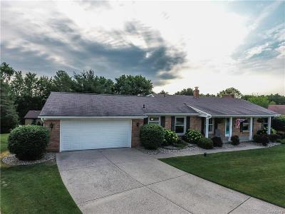 Shelby Twp Single Family Home For Sale: 56791 Foxcroft Court