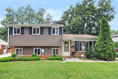 Livonia Single Family Home For Sale: 14243 Brentwood Street