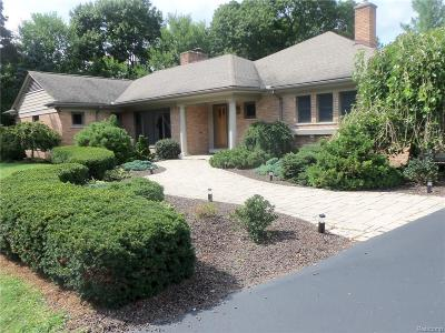 Bloomfield Twp Single Family Home For Sale: 840 Harsdale Road