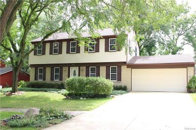 Novi Single Family Home For Sale: 43737 Galway Drive