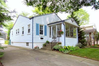 Birmingham Single Family Home For Sale: 1423 Bennaville Avenue