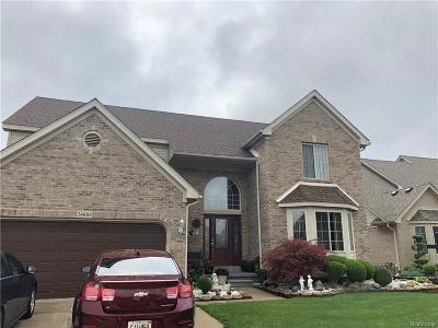 Brownstown Twp Single Family Home For Sale: 24604 Helene Drive